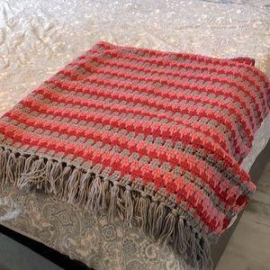 New crochet throw blanket